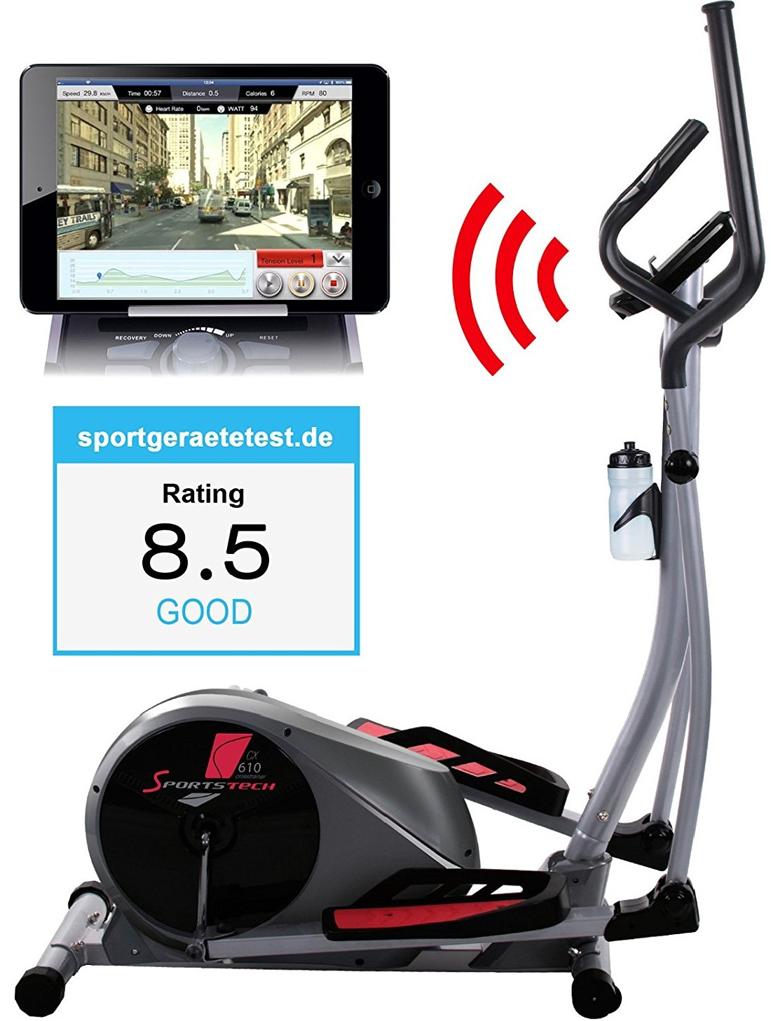 You Have To See This Cross Trainer with an iPad Screen
