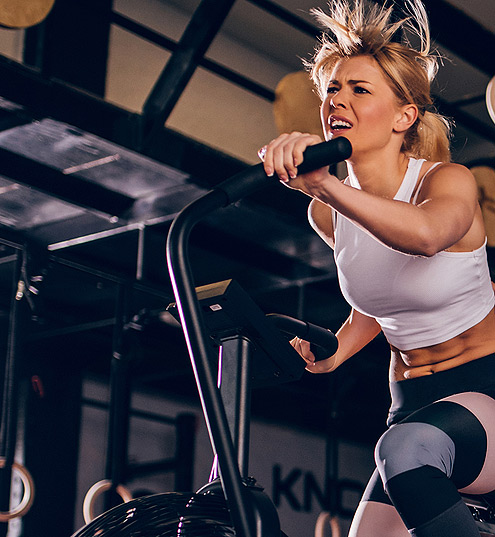 Does assault biking burn a lot of calories