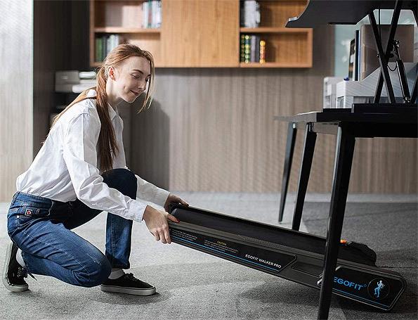 EgoFit walker is a small treadmill