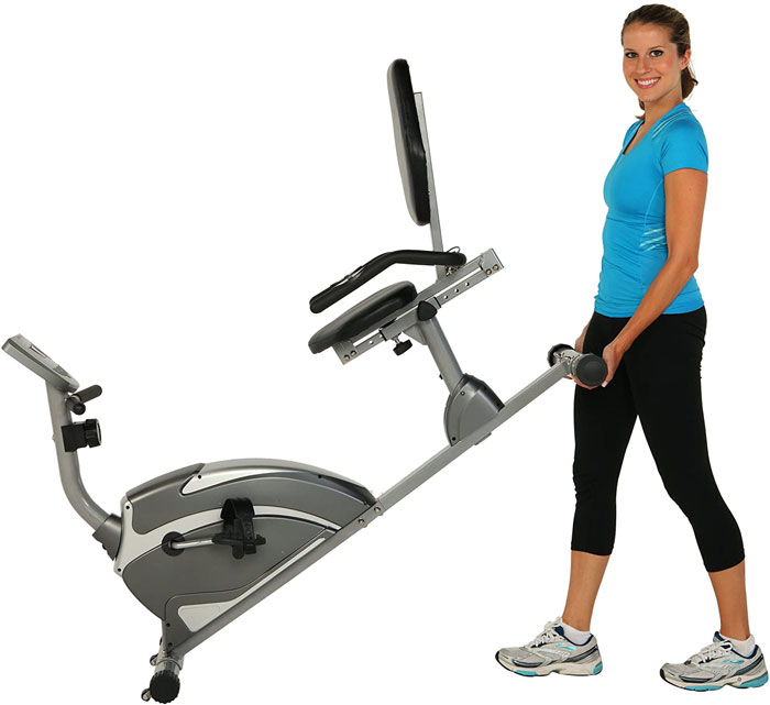 Exerpeutic 900XL - easy folds and transports well