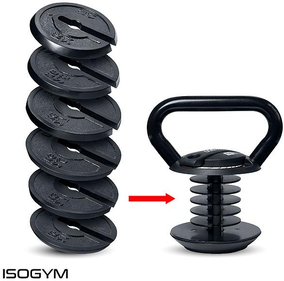 Isogym kettlebell weights