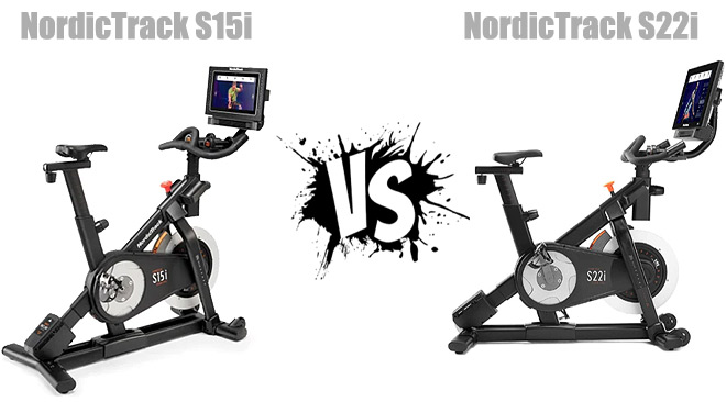NordicTrack S15i vs S22i Studio Cycles