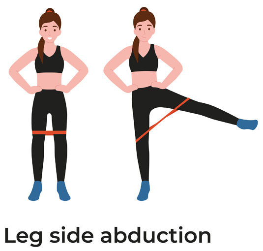 Resistance Band - Side Abduction
