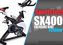 Sportstech SX400 Review - Is This Mid-Priced Spin Bike Any Good?