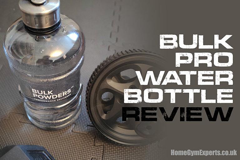 Bulk Pro Water Bottle Review