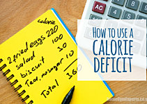 The Best Way To Create a Calorie Deficit Training At Home