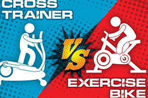 Cross Trainer vs. Exercise Bike