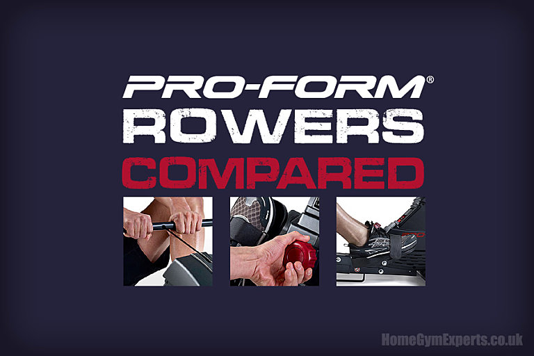 Proform Rowing Machines Compared