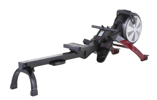 The R600 Rower has a lightweight aluminium build