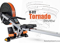 V-Fit Tornado Review - Good Budget Air Rower?