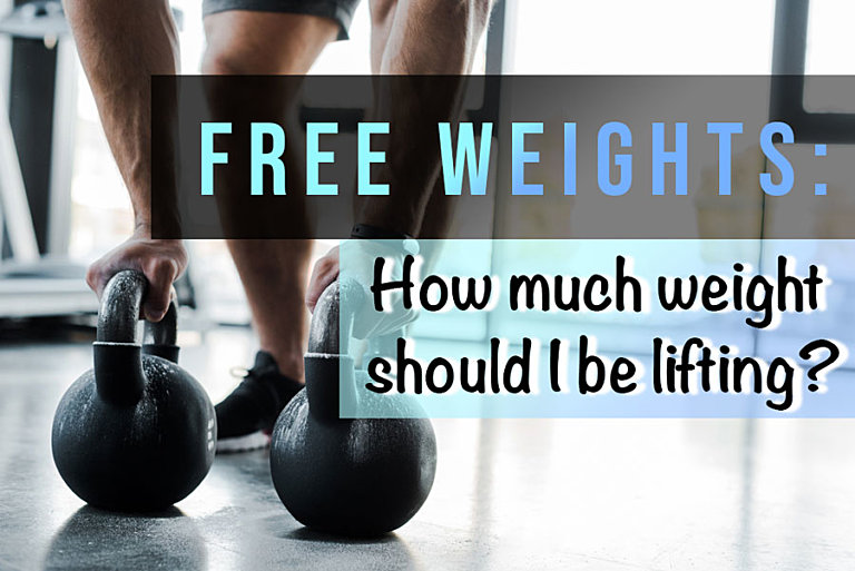 Free weights: How much weight should I be lifting?