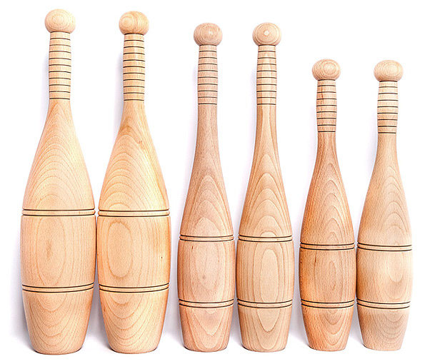 Indian Wooden Clubs