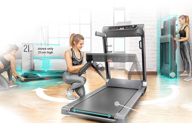 Sportstech FX300 - Easy folding