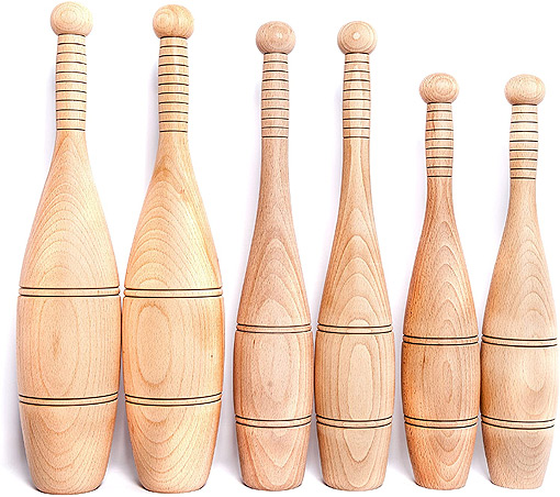 Stableford's Wooden Indian Clubs