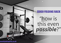 The Exigo Folding Rack Belongs in a Bond Movie