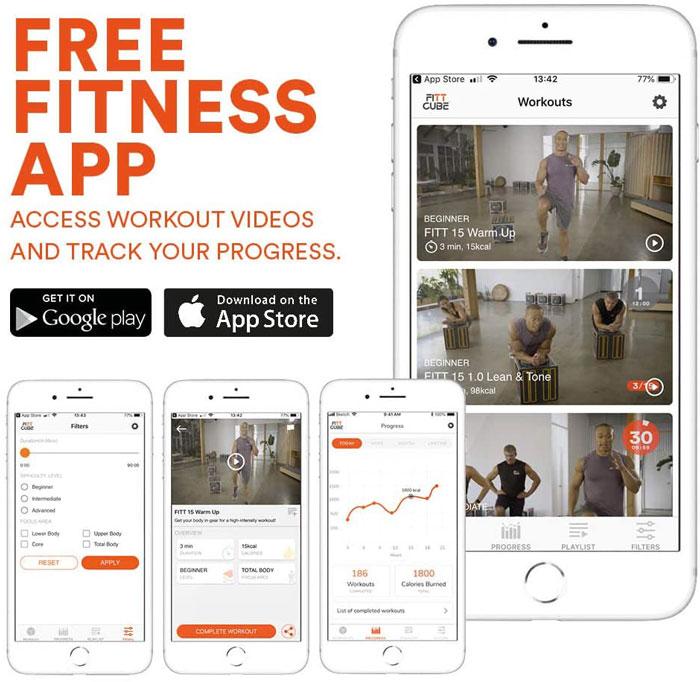 FittCube Fitness App