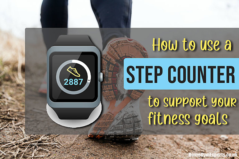 How to use a step counter to support your fitness goals