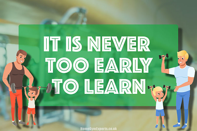 It is never too early to learn
