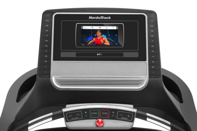 NordicTrack T 7.5 S Treadmill - console and touchscreen