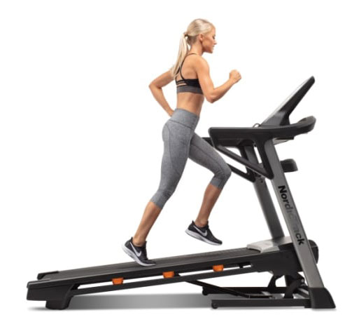 NordicTrack T 7.5 S Treadmill - powered incline