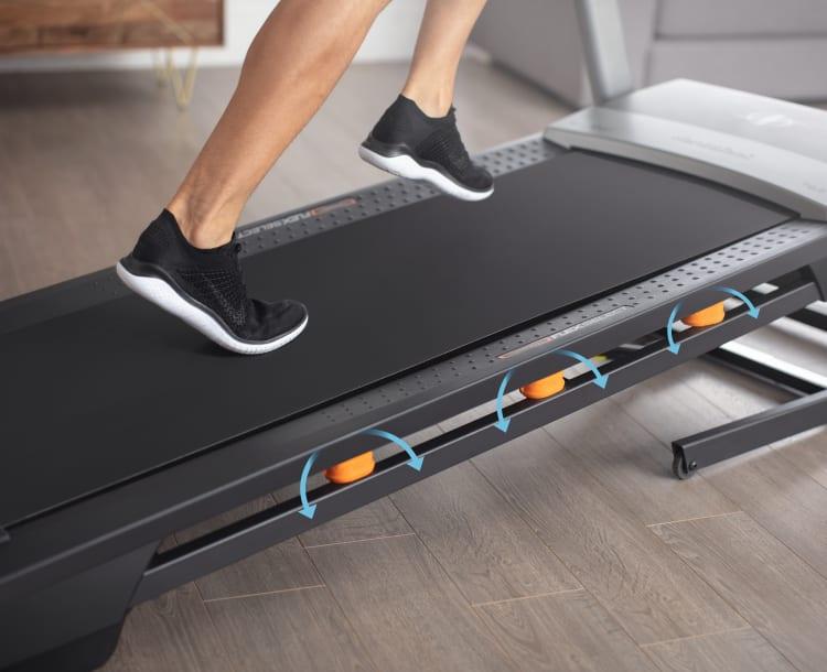 NordicTrack T 7.5 S Treadmill - running deck