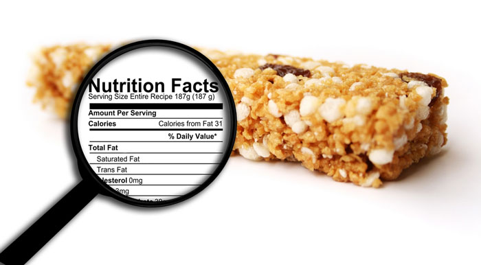 Protein bar nutrition facts