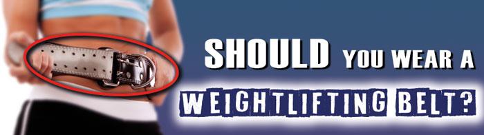 Should you wear a weightlifting belt - strip image