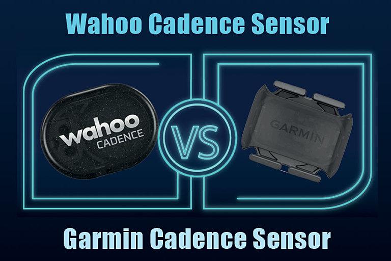 Wahoo Sensors versus Garmin Cadence Sensors