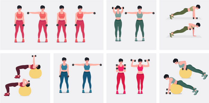9 Benefits of Dumbbell Training - dumbell workout