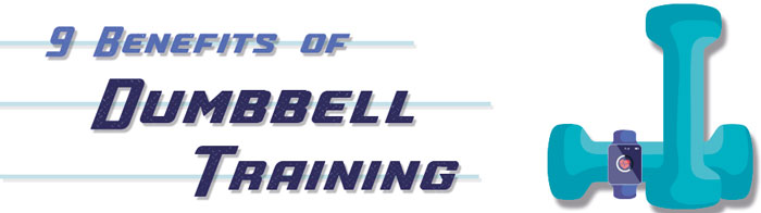 9 Benefits of Dumbbell Training - strip img