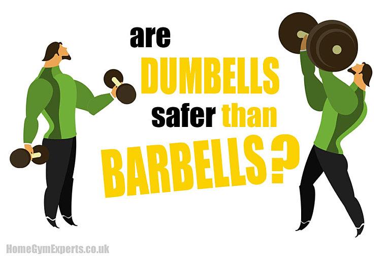Are Dumbbells Safer Than Barbells