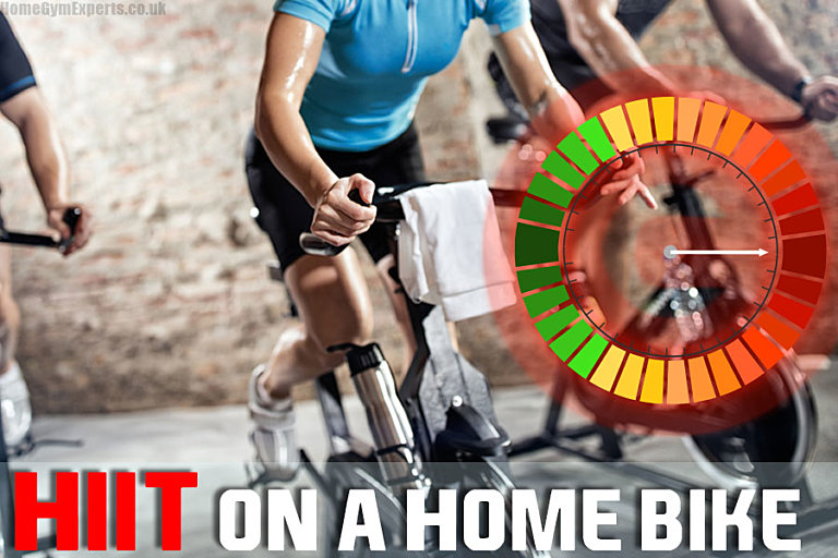 High Intensity Interval Training on a Home Bike - featured image