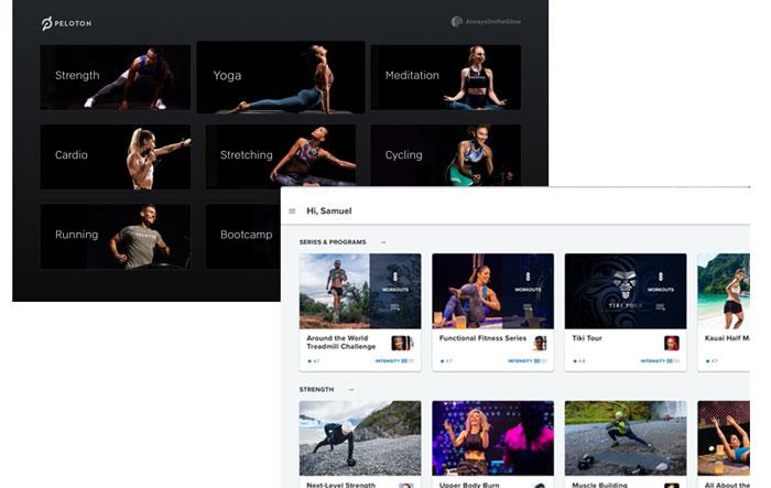 Peloton Treadmill vs NordicTrack X11i - fitness app