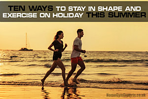 Stay in shape on holiday