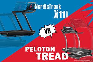 The Peloton Treadmill vs NordicTrack X11i