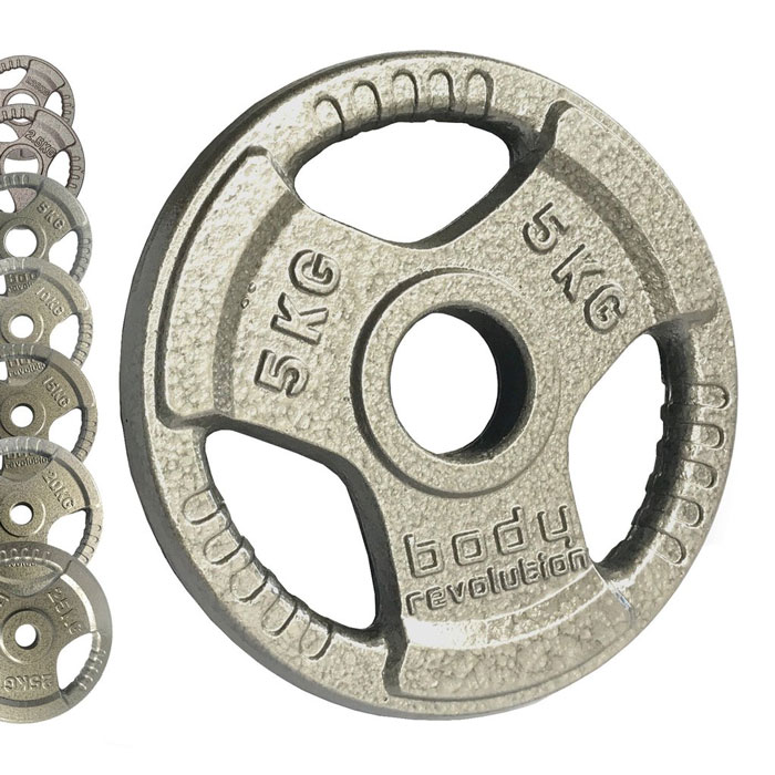 Body Revolution Olympic Weight Plates - metal