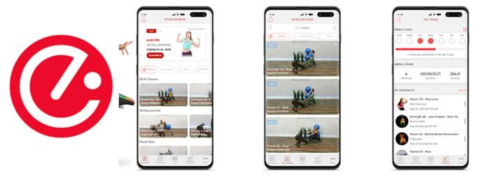 Echelon New Smart Row - Echelon App