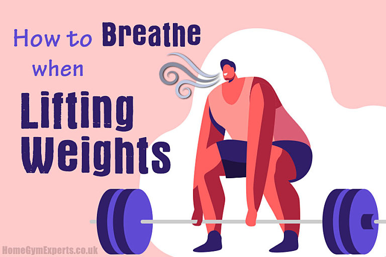 How to Breathe when Lifting Weights - featured img