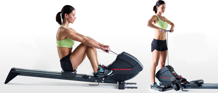 Proform's 440R Rower - Variable workout features