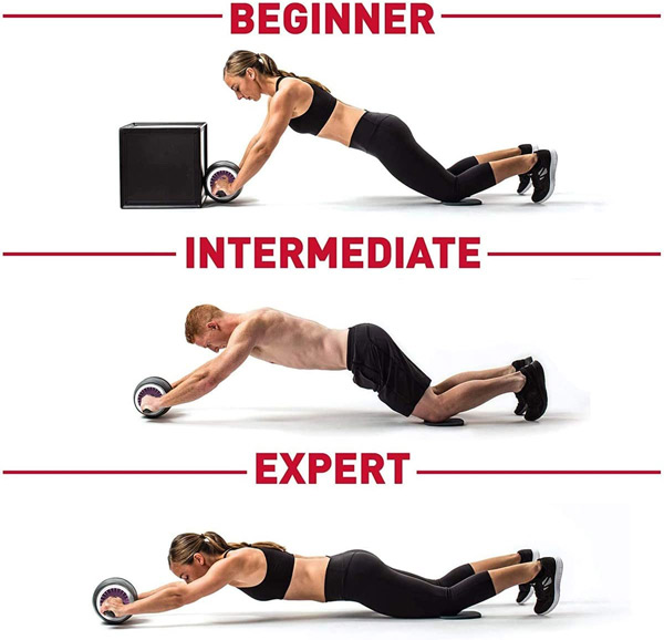 Ab wheel for core workouts