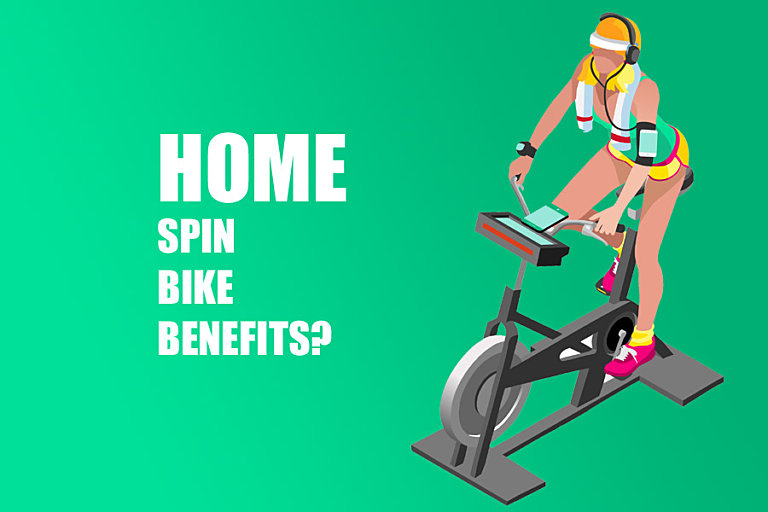 Benefits Of Using A Spin Bike at Home