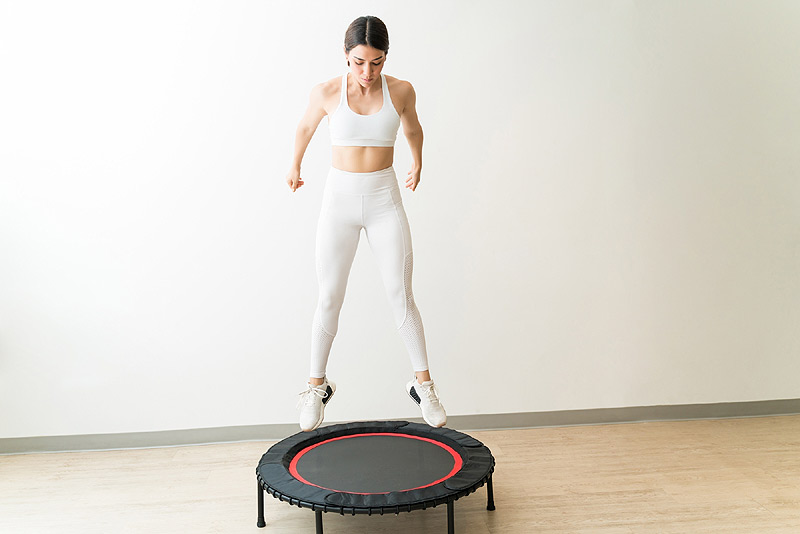 Benefits of Jumping on a Trampoline At Home