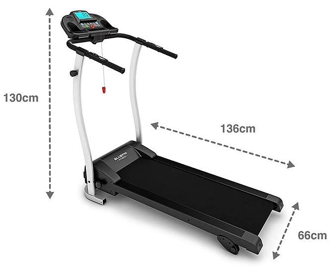 Bluefin Treadmill Dimensions