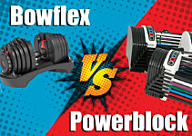Bowflex vs Powerblock Adjustable Dumbbells: Which one should you buy?