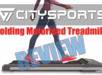 Citysports Folding WP1 Motorized Treadmill Review