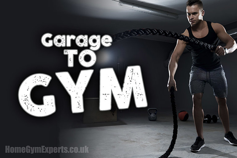 Converting your garage into a gym