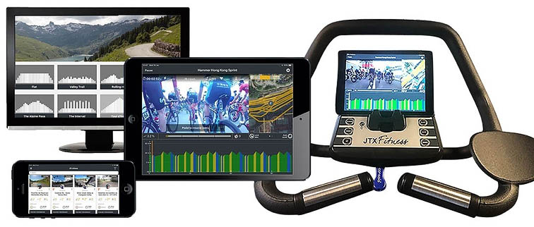 Online races with the Cyclo 5