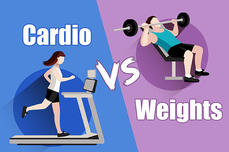 Does Cardio or Weight Training Burn More Fat