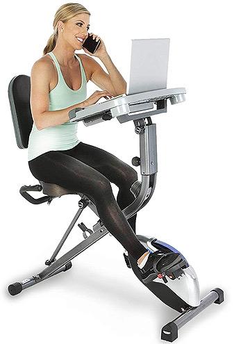 Best Desk Bikes - the Exerpeutic Exerwork