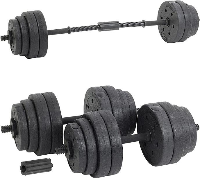 Hardcastle 30Kg Adjustable Dumbbell Barbell